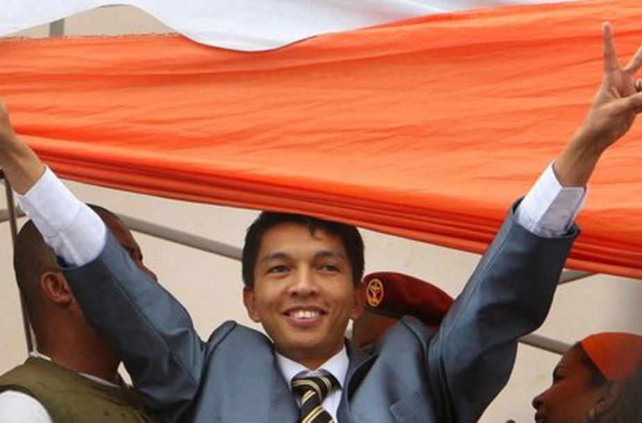 Judėjimo lyderis Andry Rajoelina