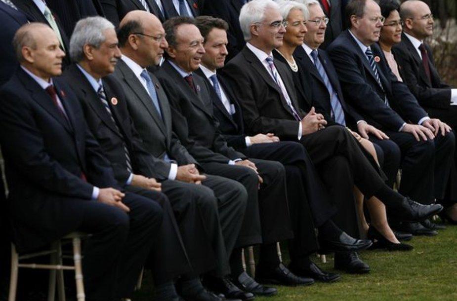 Didžiojo dvidešimtuko (G-20) finansų ministrų susitikimas