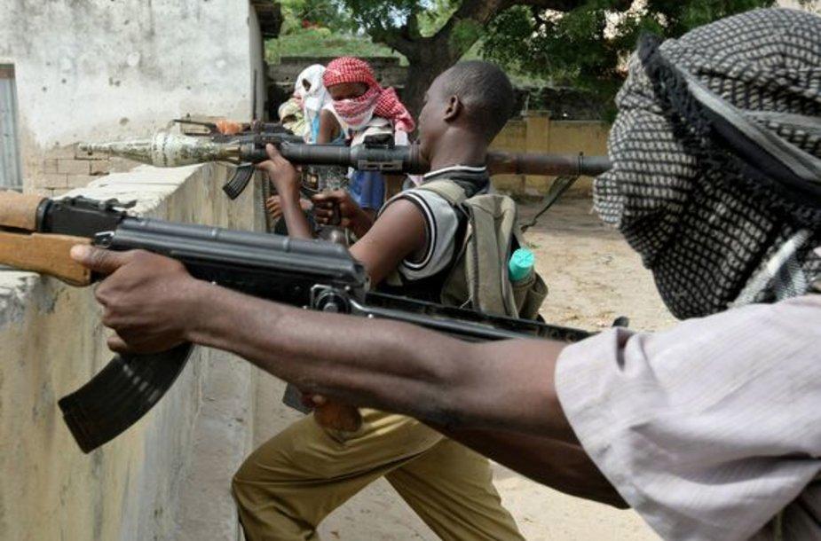 Somalio sukilėliai užėmė dar vieną kaimą.