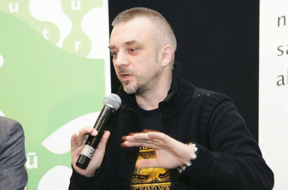 Andrius Mamontovas kovos už savo dainas.