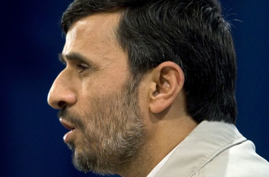 Irano prezidentas Mahmoudas Ahnadinejadas.