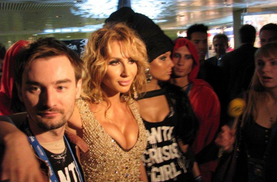 "Svetlana Loboda ""Eurovizijos"" vakarėlyje"