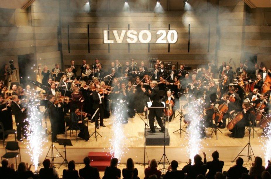 LVSO jubiliejinis koncertas – didžiausia šventė patiems orkestro muzikantams, svečiams ir draugams.