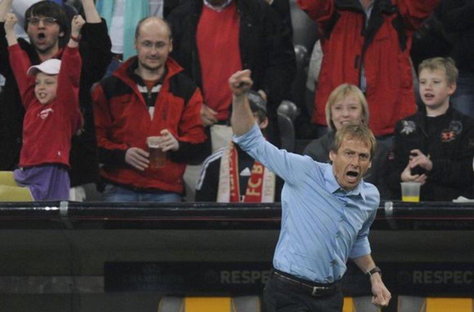 J.Klinsmannas turi atlaikyti didelę kritikos bangą.