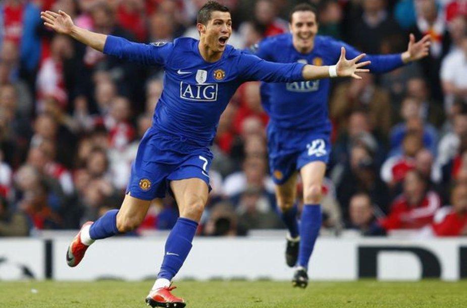 C.Ronaldo tapo rungtynių didvyriu - nugalėtojams pelnė net du įvarčius.