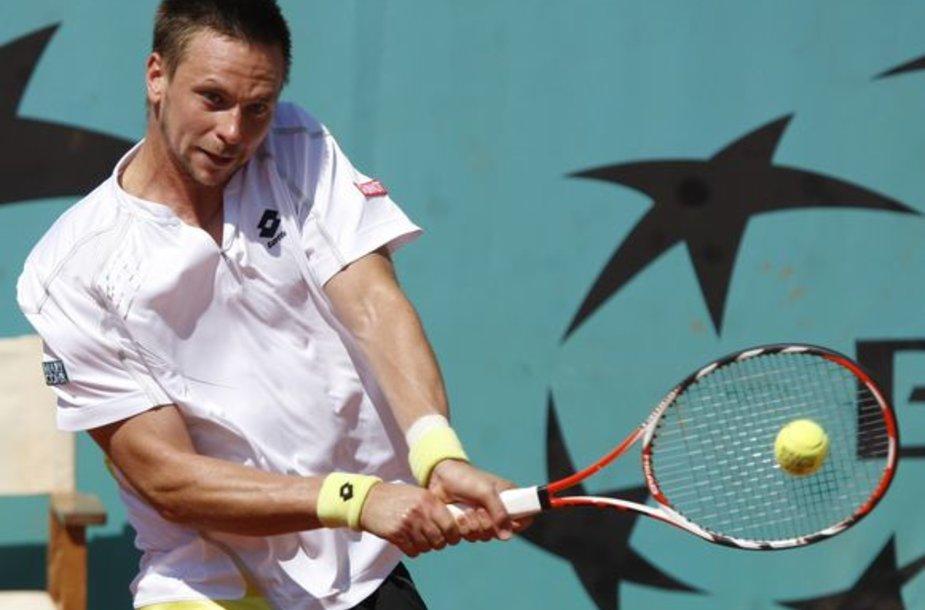 "R.Soderlingas pirmąkart pateko į ""Roland Garros"" pusfinalį"