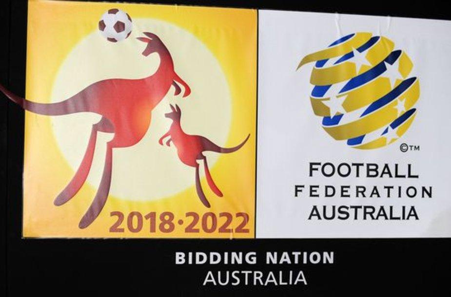 Australija tikisi pasaulio futbolo čempionatą organizuoti 2018 arba 2022 metais
