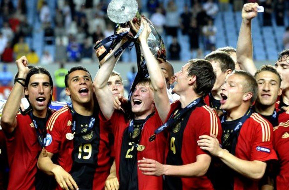 Vokietijos jaunimas tapo Senojo žemyno futbolo čempionais