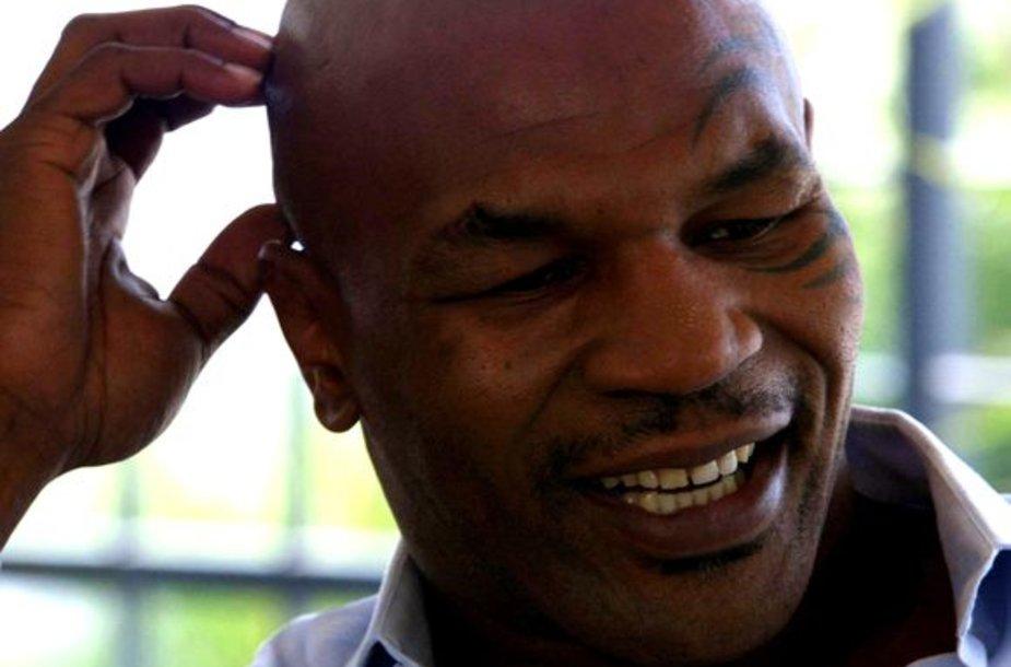 M.Tysonas tą pačią dieną paleistas už užstatą
