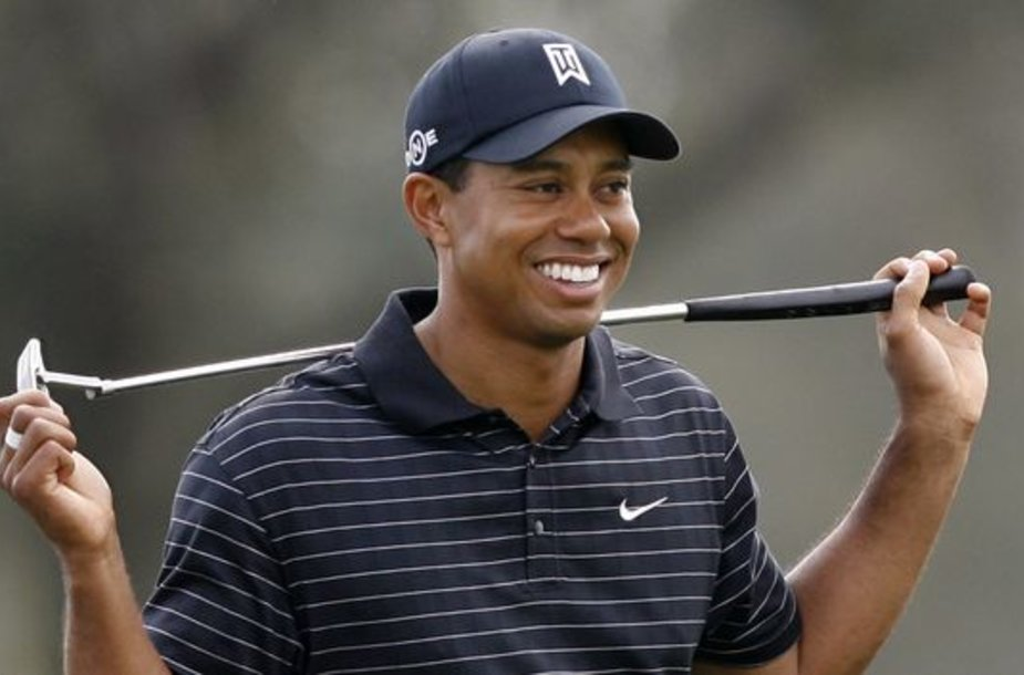 T.Woodsas – pirmasis sporto milijardierius