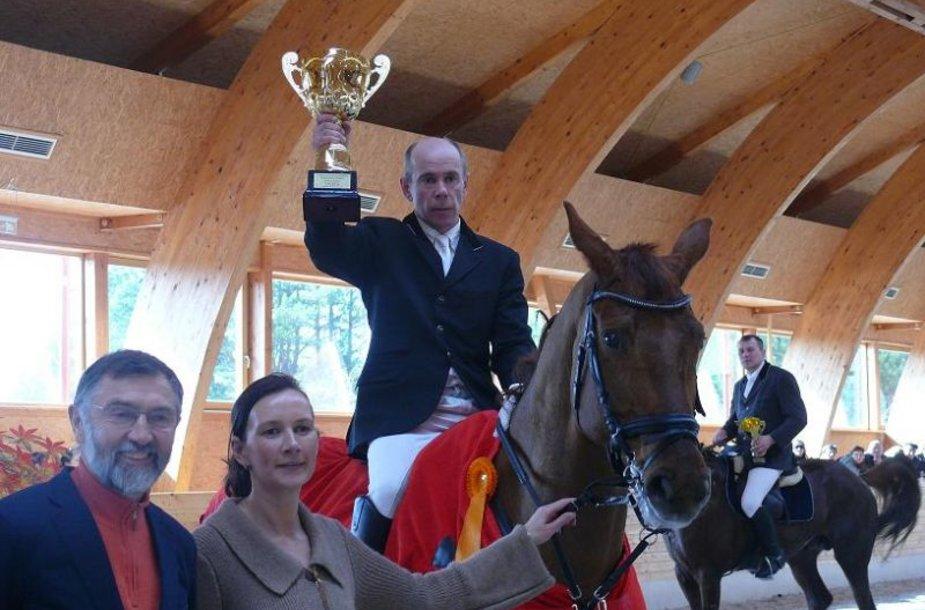 Lietuvos žiemos konkūrų finalo čempionas - Rimantas Babrauskas