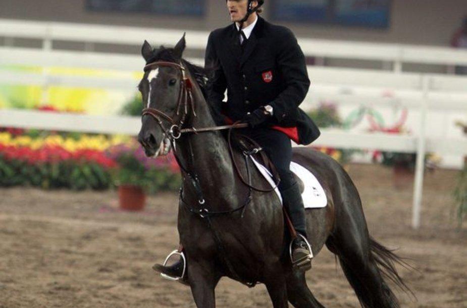 Edvinas Krungolcas Pekino olimpinėse žaidynėse