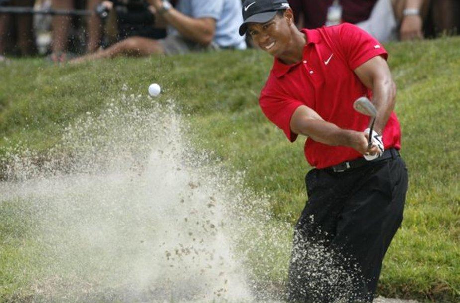Tigeris Woodsas - turtingiausias sportininkas