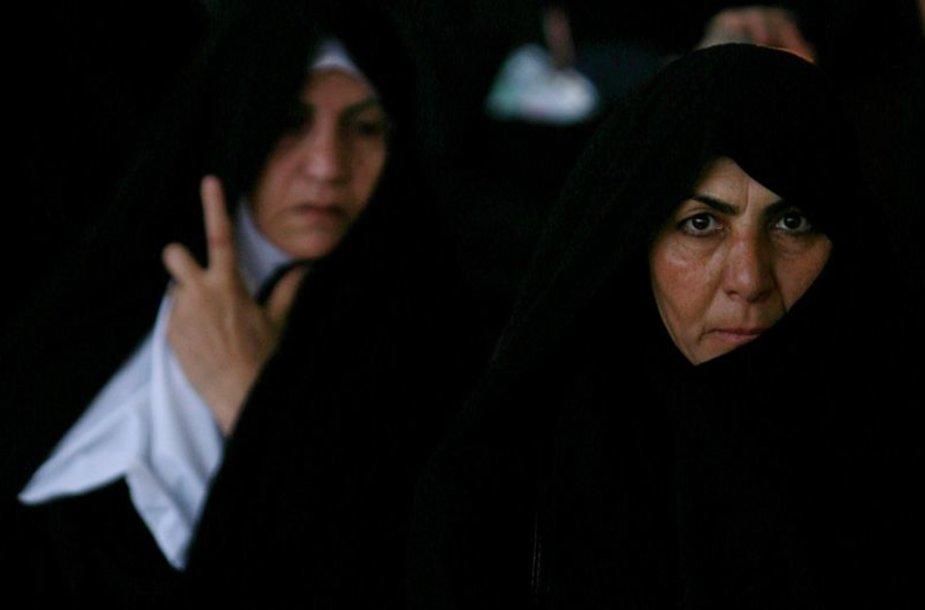 Irano moterys