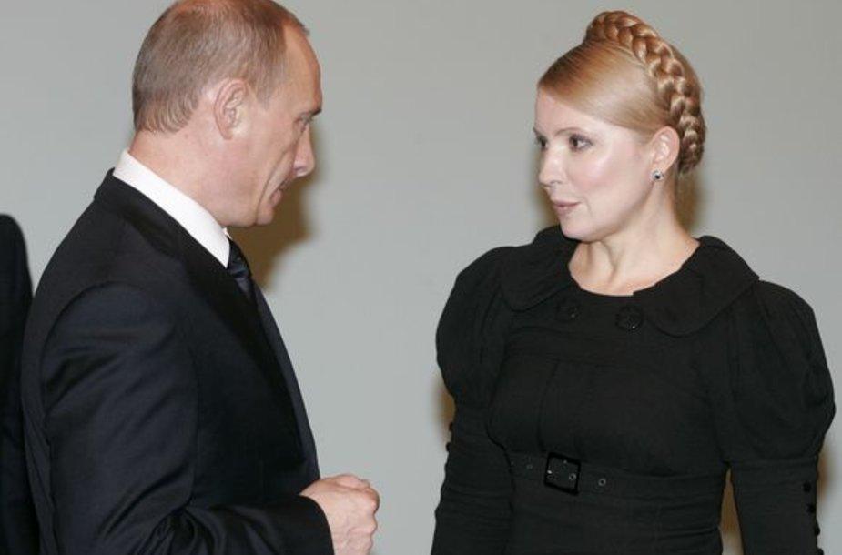 Tymošenko ir Putinas
