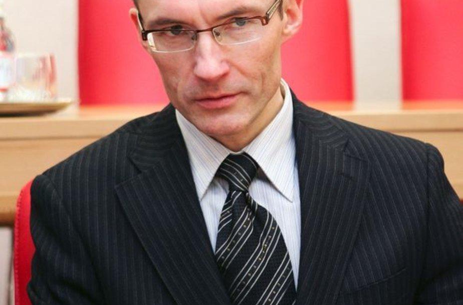Konstitucinio Teismo (KT) teisėjas Egidijus Šileikis