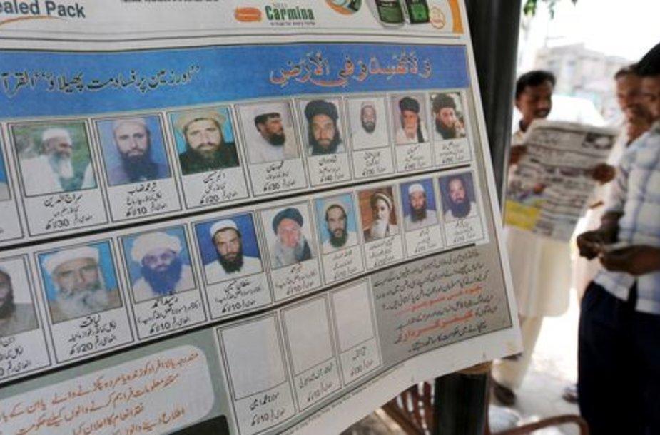 Pakistanas paskelbė skirsiantis atlygį už Svato slėnyje veikiančių kovotojų vadą.