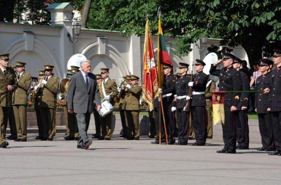 V.Adamkus dalyvavo ceremonijoje.