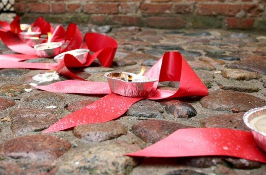 AIDS dienos minėjimas