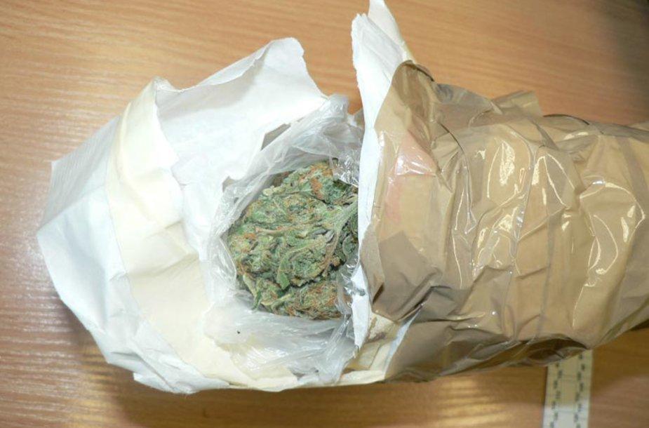 Konfiskuoti narkotikai