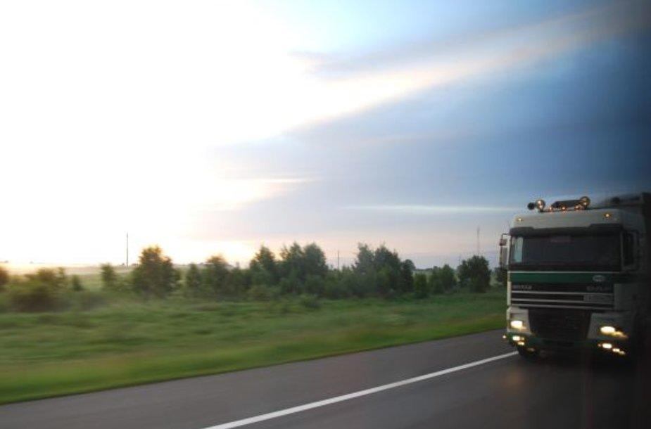 Rusai su sunkvežimiais yra dažni svečiai mūsų šalies keliuose, vienas kitas čia neišvengia ir klaidų.