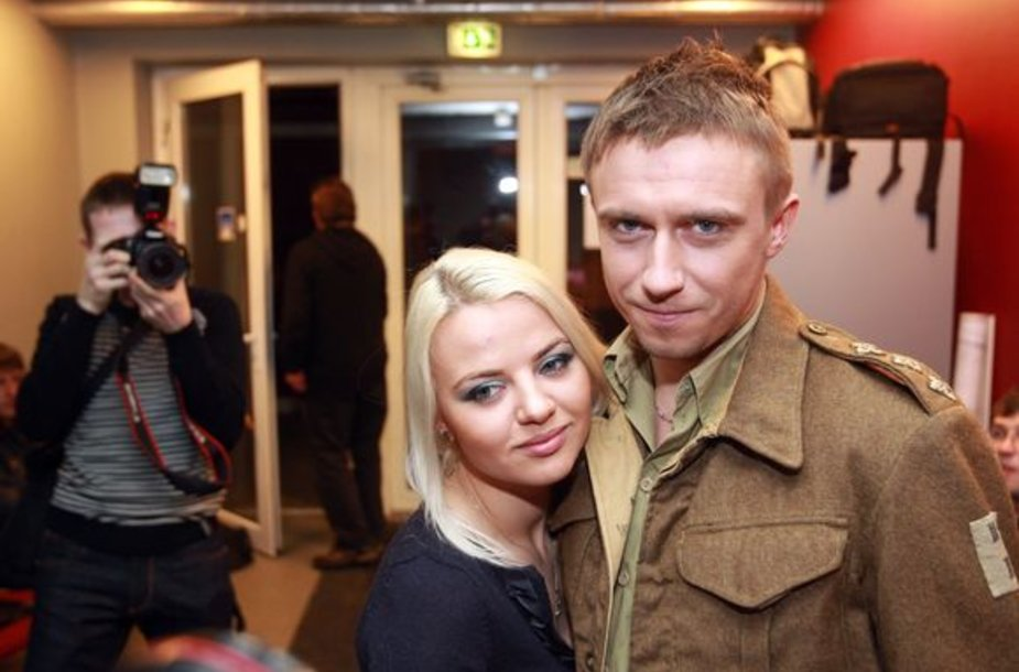 Renata Uzialkaitė ir Marius Jampolskis