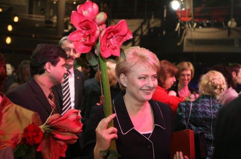Metų moterimi tapo Dalia Grybauskaitė!