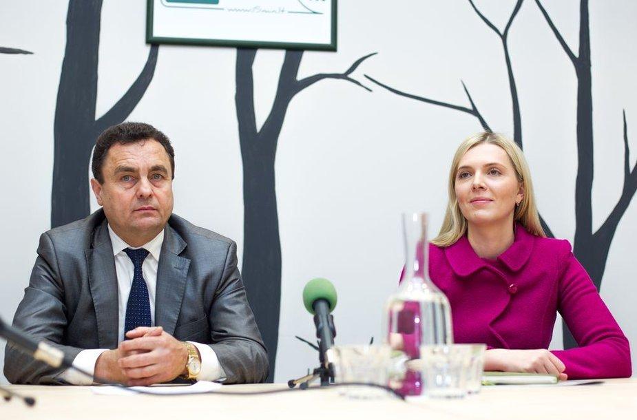 15min.lt debatuose – Agnė Bilotaitė ir Petras Gražulis