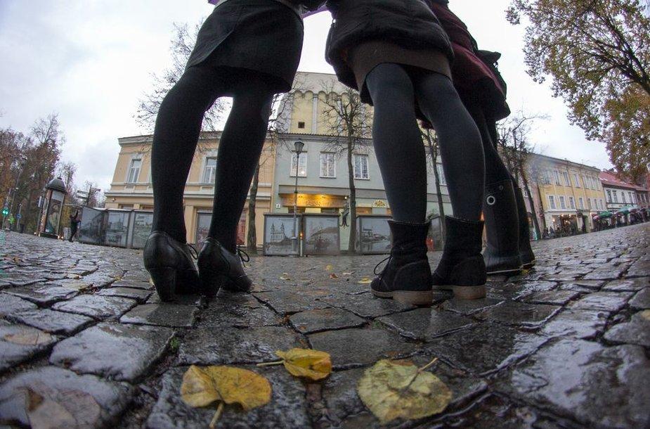 Raudonųjų žibintų kvartalas Vilniuje driekėsi per gražiausias ir populiariausias miesto vietas.