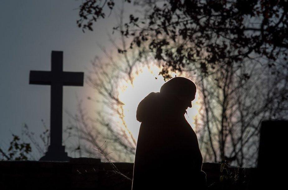 Sostinės kapinėse