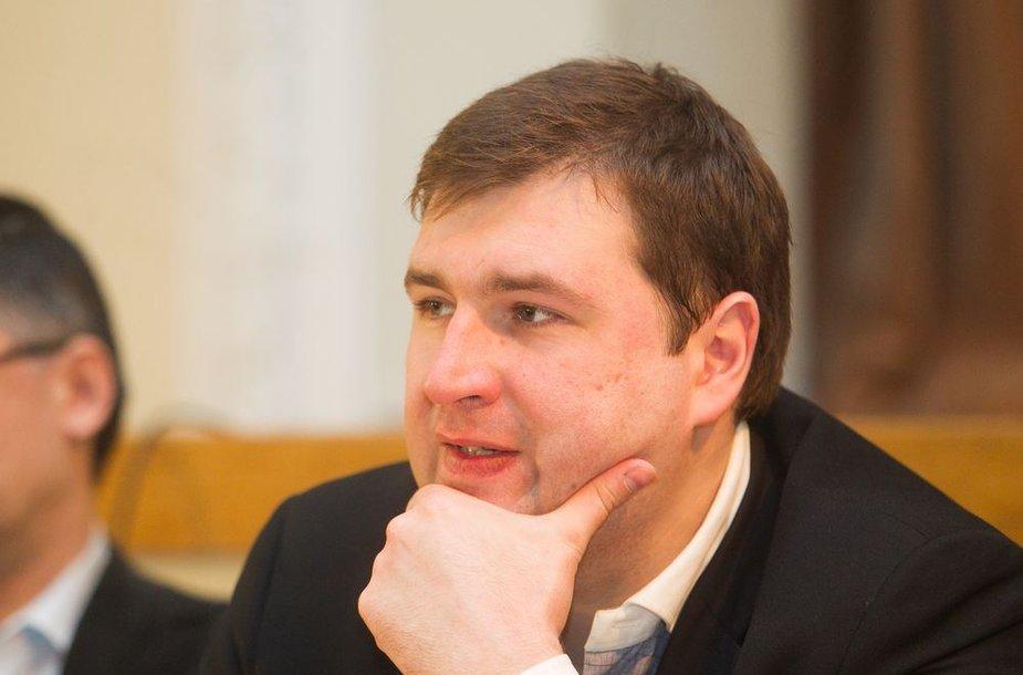 Žurnalistas Tomas Dapkus