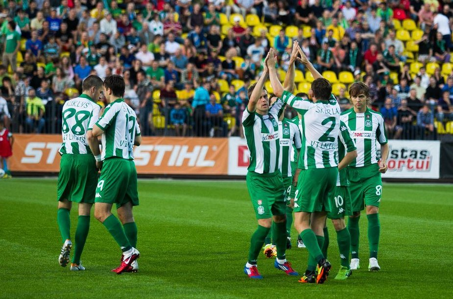 """Vilniaus """"Žalgirio"""" futbolininkai"""