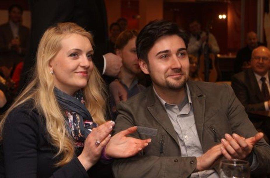 Rūta Ščiogolevaitė ir Elvinas Dandelis