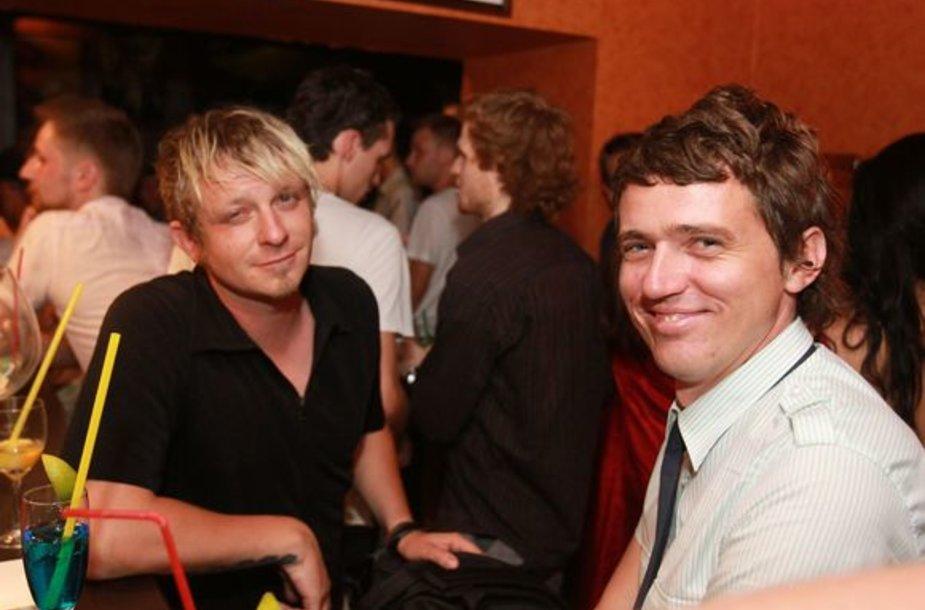 Maksas Melmanas ir Olegas Aleksejevas