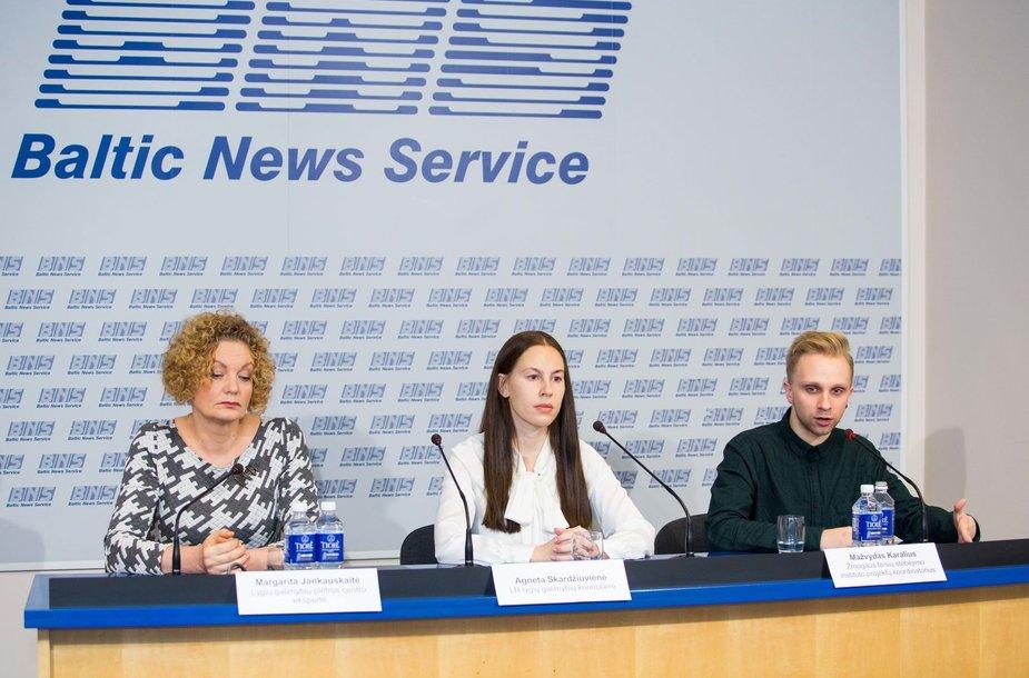 Lygių galimybių kontrolieriaus tarnybos spaudos konferencija