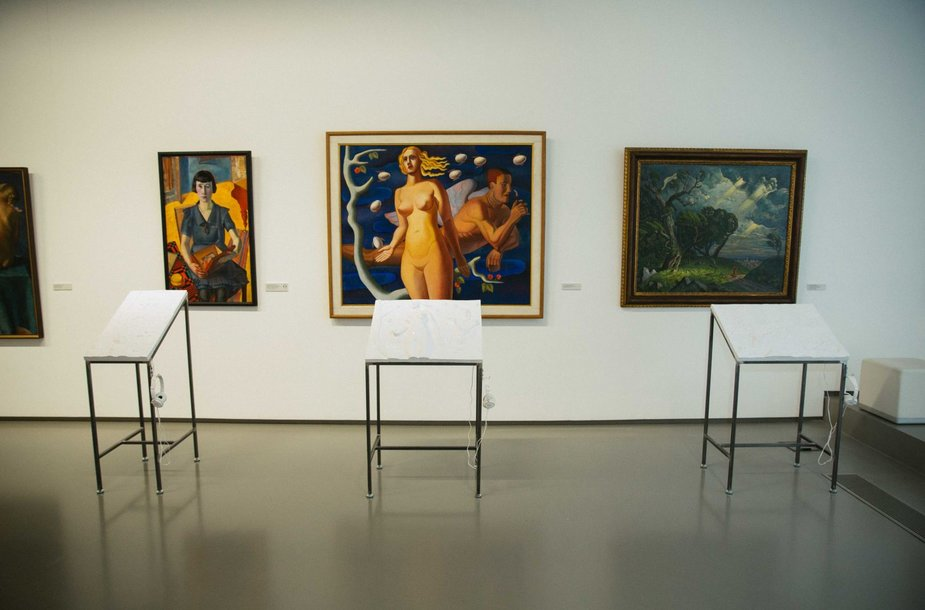 """Nacionalinėje dailės galerijoje paroda """"Blind date"""""""