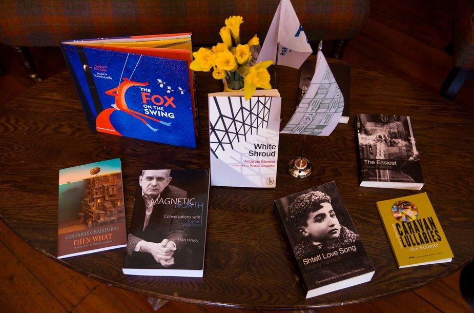 Lietuvos prisistatymo Londono knygų mugėje spaudos konferencija