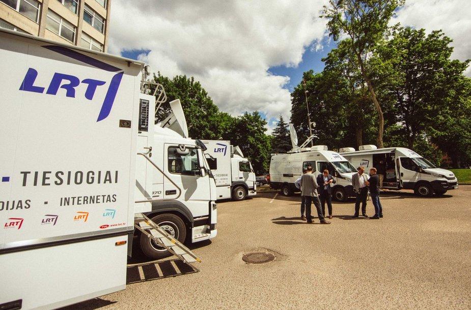 LRT pristatė naujas kilnojamos televizijos stotis.