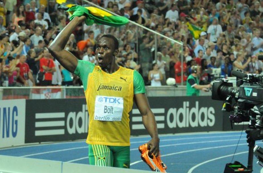 U.Bolto pergalė 200 m bėgime