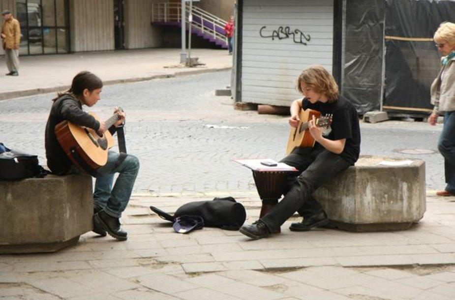 Šiemet uostamiesčio gatvės muzikos dienos renginiuose ketina dalyvauti trissyk daugiau muzikantų nei ankstesniais metais.