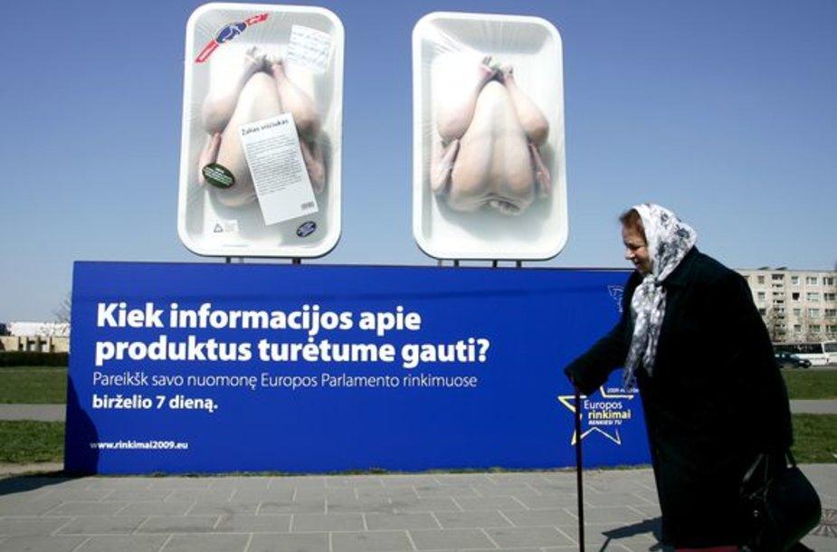 Iki Europarlamento rinkimų likus mėnesiui EPIB nusprendė rinkėjus vilioti pasitelkiant ironiją.
