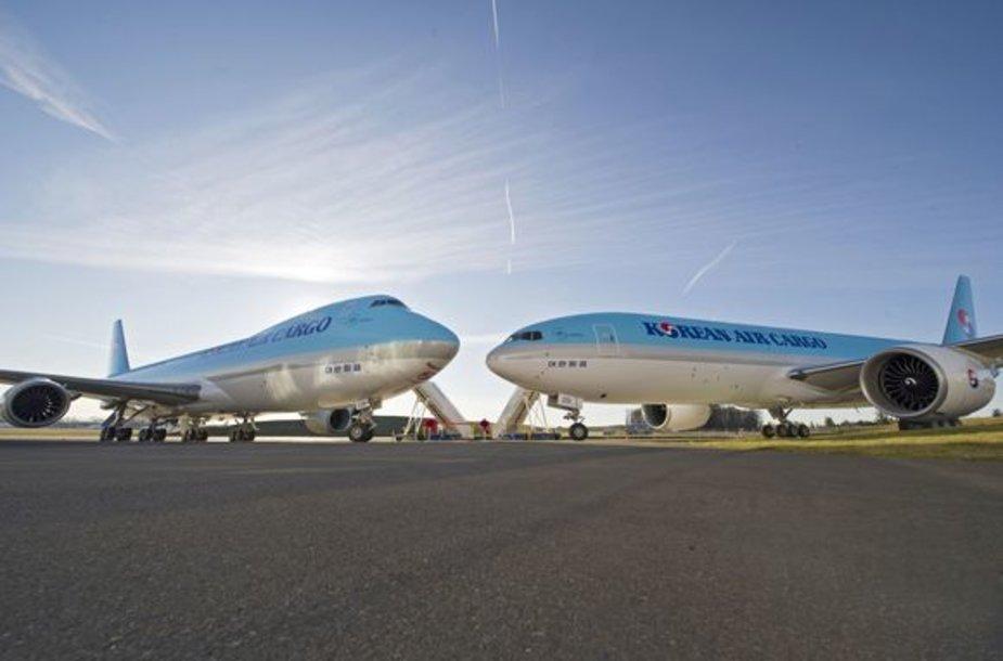 """Korean Airlines"" lėktuvai"