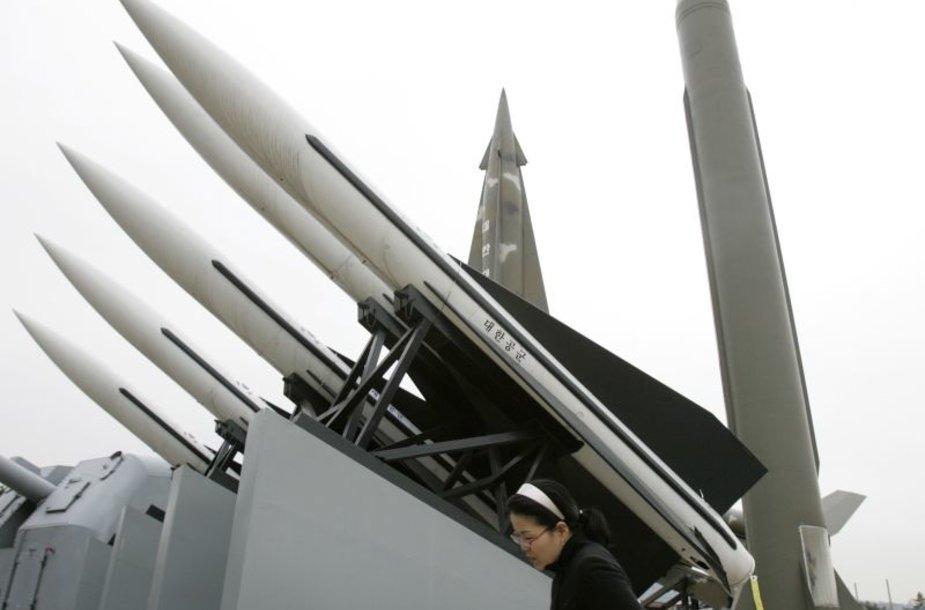Raketos Šiaurės Korėjoje