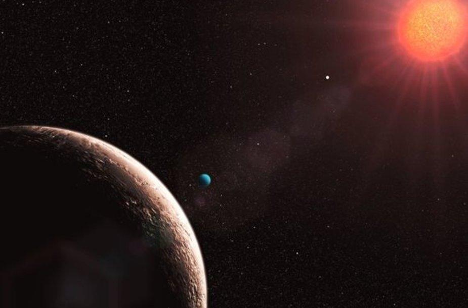 Atrasta nauja planeta