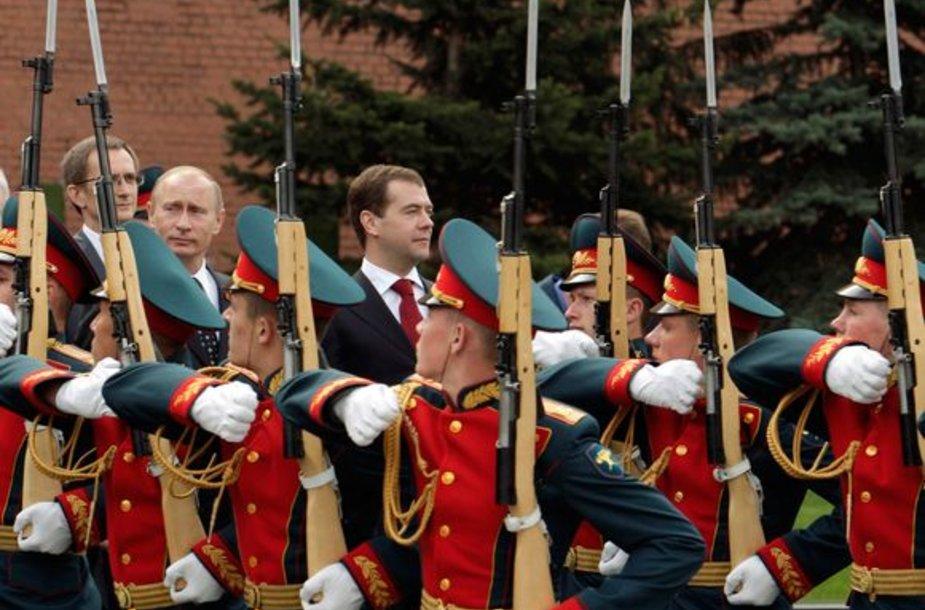 Paradai vyks visoje Rusijoje