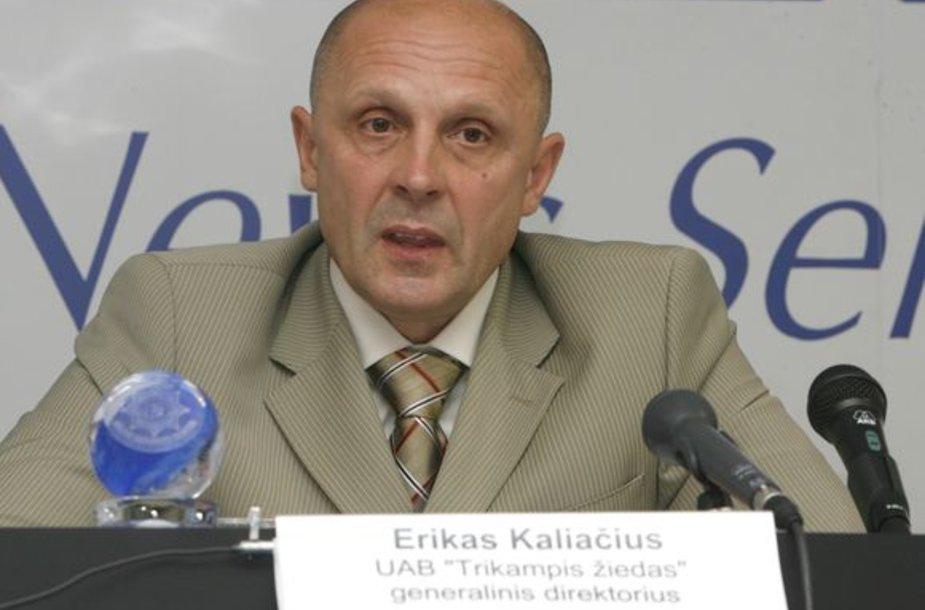 E.Kaliačiaus brolį užklupo finansinės bėdos.