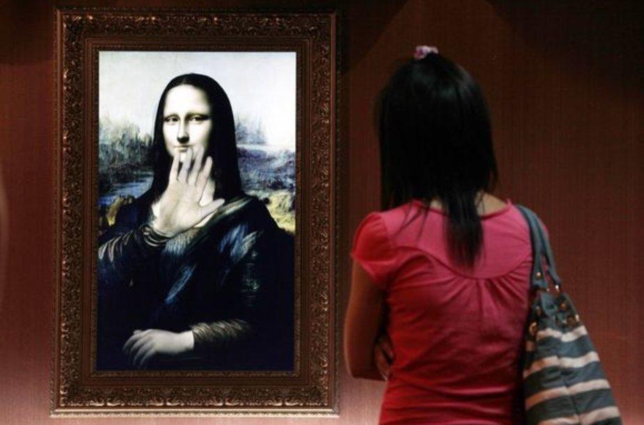"""Interaktyvioji """"Mona liza"""""""