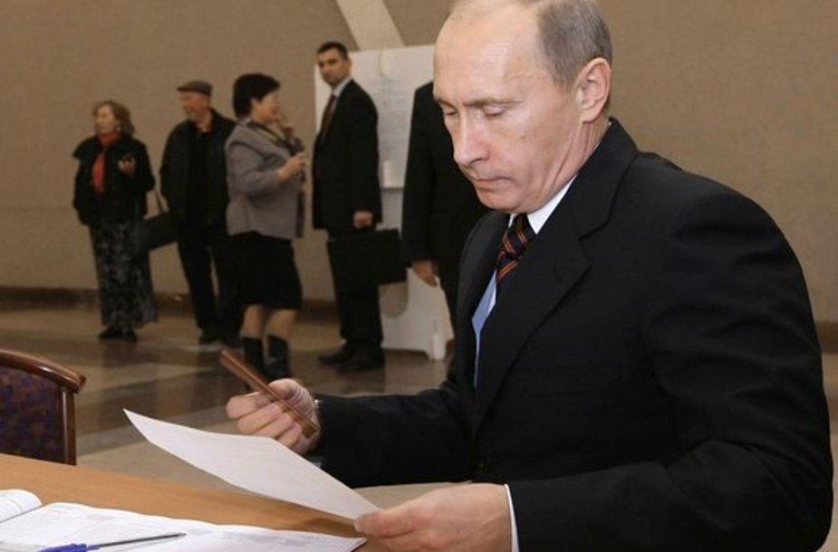 Balsuoja V.Putinas