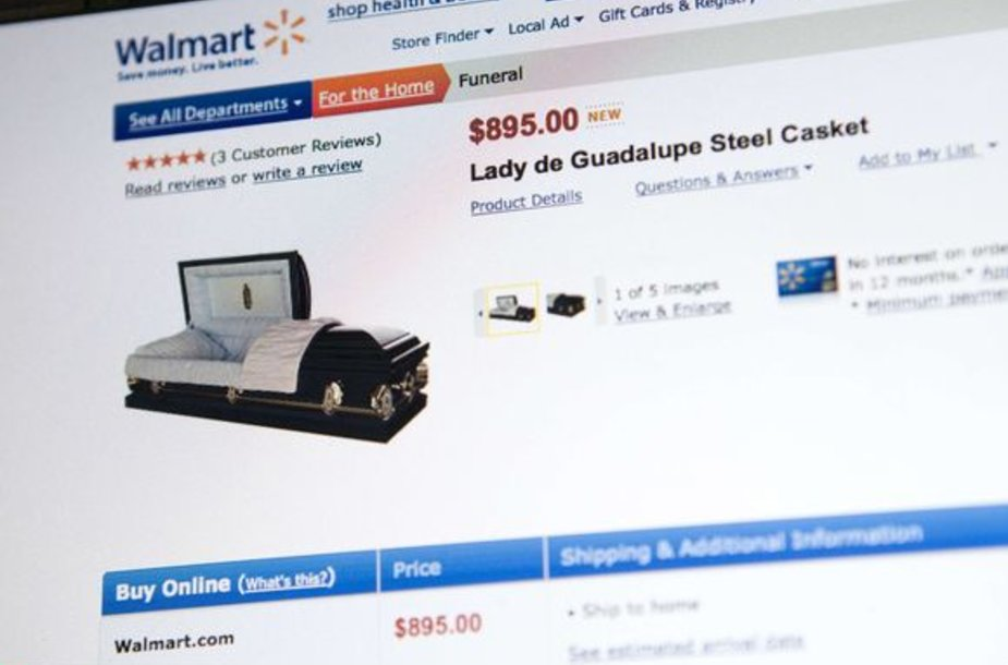 """""""Wal-Mart"""" prekiaus ir karstais"""