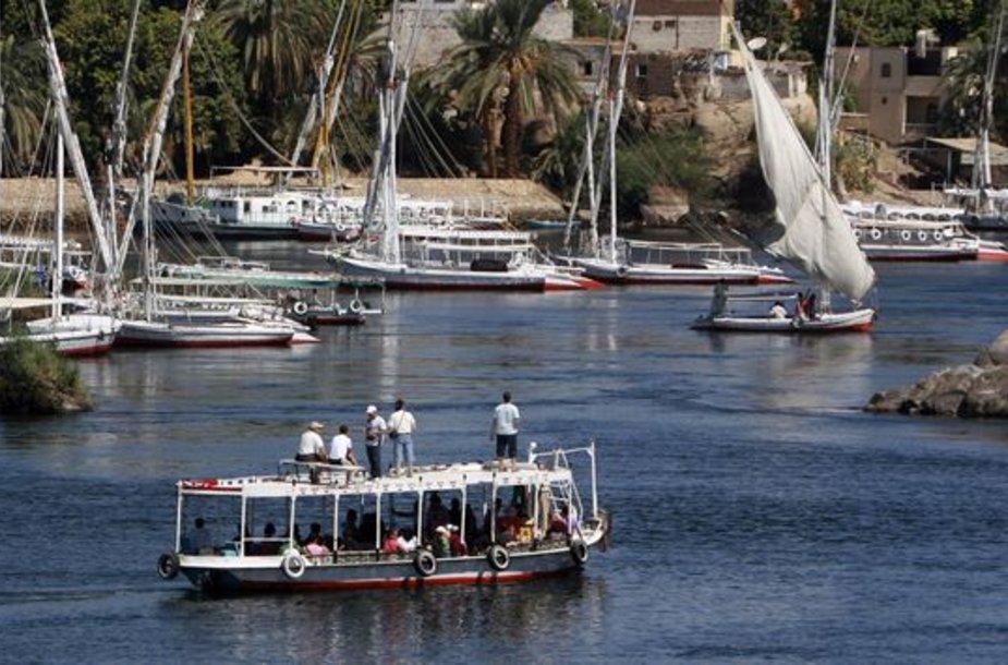 Keltai Nilo upėje